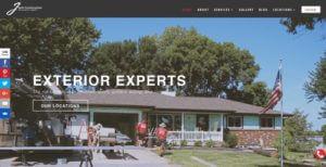 exteriors website example
